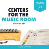 Music Centers Set {Grades 1-5 Bundled Set}
