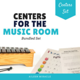 Music Centers Set {Grades 1-5 Bundled Set}