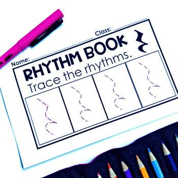 Music Centers - Ta Rest Rhythm Practice