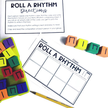 Music Centers - Ta and Titi Rhythm Practice