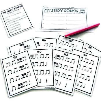 Music Centers - Tika-tika Rhythm Practice
