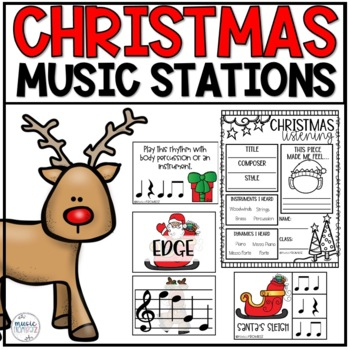 Music Centers for Christmas