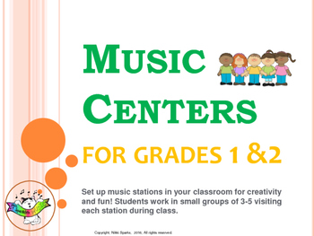 Music Centers for Grades 1 & 2