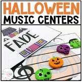 Music Centers for Halloween