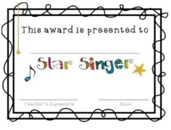 Music Certificates {Editable}