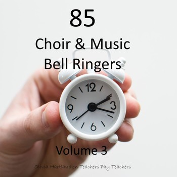 Music & Choir Do Now, Bell Ringer, Daily Board Activities Volume 3