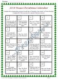 Music Christmas Calendar - Fully Editable