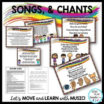 Music Class Essential Songs, Activities, Games, Chants, Rules, Lessons, Mp3's