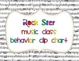 Music Class Behavior Clip Chart