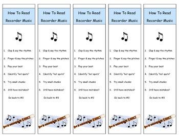 Music Class Bookmark Mega Pack