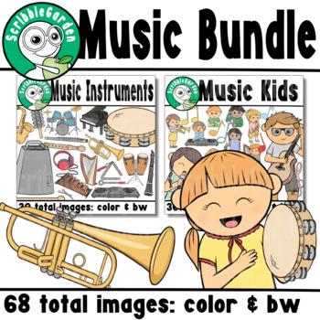 Music Class ClipArt Bundle