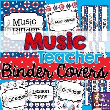 Music Class Decor BUNDLE - Nautical Theme