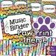 Music Class Decor BUNDLE - Paw Print Theme