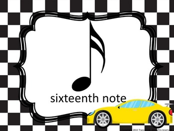 Music Class Decor Bundle - Racing Theme