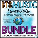 Music Class Essentials World Theme Bundle of Back to Schoo