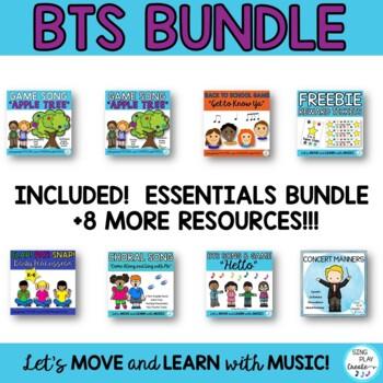 Music Class Bundle: Songs, Activities, Games, Chants, Lessons, Decor