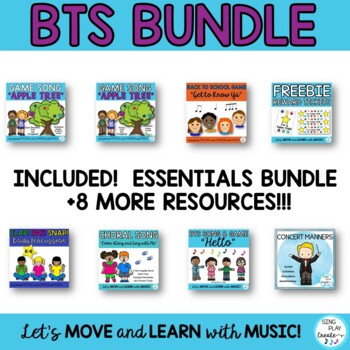 Music Class Bundle: Songs, Activities, Games, Chants, Lessons, Decor