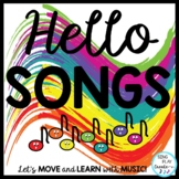Music Class Hello Song Bundle: Videos, Mp3 Tracks