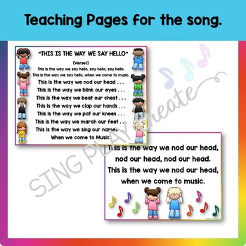 "Music Class Hello Song: ""This is the Way We Say Hello"" Video, Mp3 Tracks"