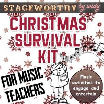 Music Teacher's Holiday Survival Kit (Christmas Survival Kit)