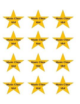 Music Class Idol Stars