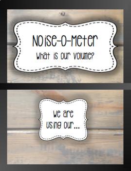 Music Class Noise O Meter [Farmouse Decor]