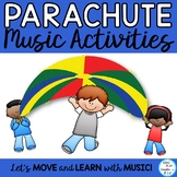 Creative Movement Parachute Activities - Music, PE, Moveme
