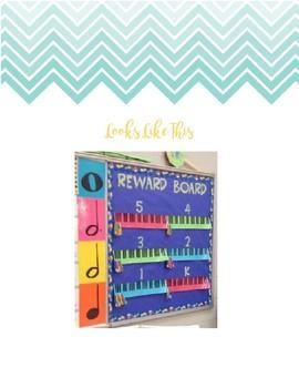 Music Class Reward System