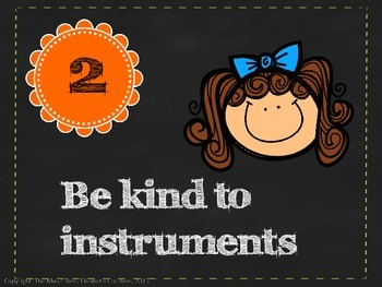 Music Class Rules and Rhythm