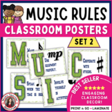 Music Decor: Class Rules Set 2