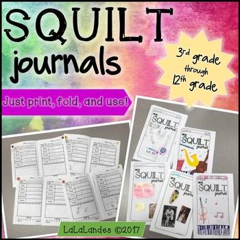 SQUILT Music Listening Journals