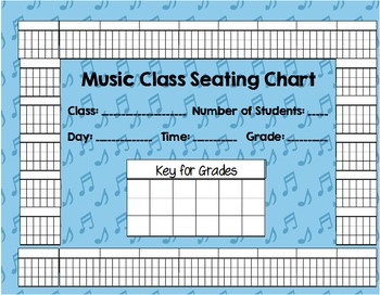 Music Class Seating Chart