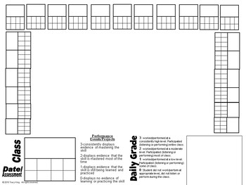 Music Class Seating Charts