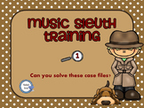 Music Sleuth Training Set 1