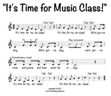 """It's Time for Music Class!"" Welcome Song"