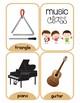Music Class and Art Class Flash Cards
