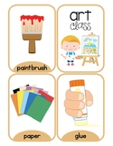 Music Class and Art Class Flash Cards
