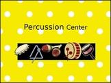 Music Classroom Centers Signs-Polka Dot Theme