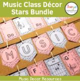 Music Classroom Decor Bundle - Stars Background