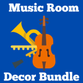 Music Classroom Decor | Elementary Music | Poster BUNDLE