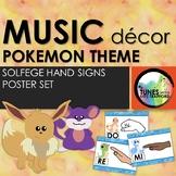 Music Classroom Decor: Pokemon Themed Curwen Solfege Hand