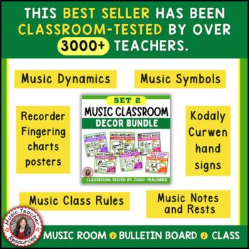 Music Classroom Decor SAVINGS BUNDLE: Set 2