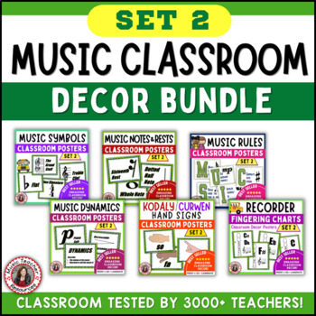 Music Classroom Decor SAVINGS BUNDLE: Set 2