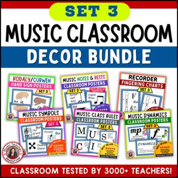 Music Posters: Music Decor SAVINGS Bundle: Set 3