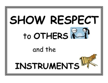 Music Classroom Expectations/Rules