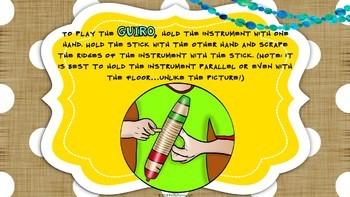 Music Classroom Instruments (Introductory PowerPoints For Musical Instruments)