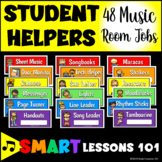 Music Classroom Jobs: Student Job Labels for Back to School Classroom Decor