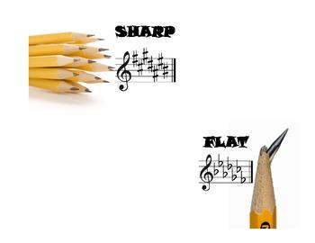 Music Classroom Pencil Bucket Labels *FREEBIE*