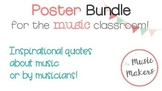 Music Classroom Posters - Bundle