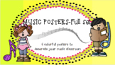 Music Classroom Posters: Full Set